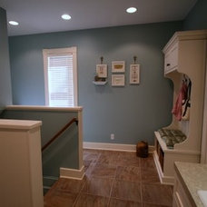 Traditional Laundry Room by Tangerine Designs Kitchens and Baths