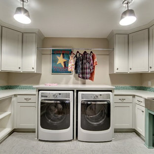 Laundry Room – Taylor Creek – English Inspired Home – Spring 2015