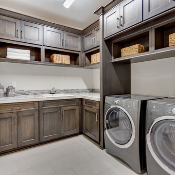 Laundry Room - The Aerius - Two Story Modern American Craftsman