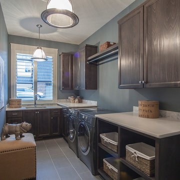 Laundry Room - The Finleigh - Transitional Craftsman on Corner Lot