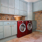 Shimon Cuthbert Residence Contemporary Laundry Room