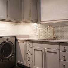 Contemporary Laundry Room by Toronto Interior Design Group | Yanic Simard
