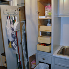 traditional laundry room Laundry Room Update