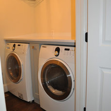 Contemporary Laundry Room Laundry Room Update