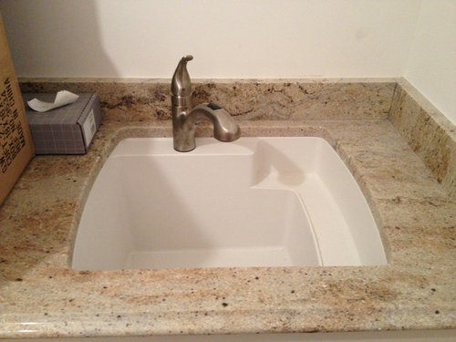 Charmant Great Sink! Is This A Sterling (Kohler Co.) Made Of Vikrell?