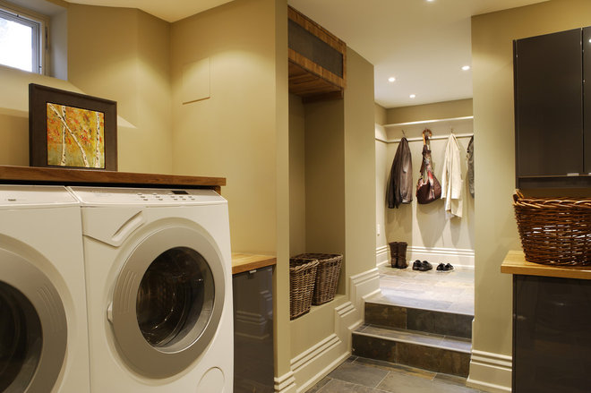 Traditional Laundry Room by Gillian Gillies Interiors (GGI)