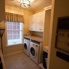 Traditional Laundry Room by Viridian Homes