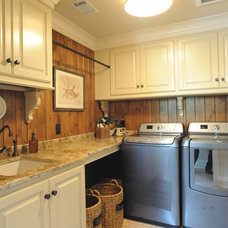 Eclectic Laundry Room by Webber Coleman Woodworks