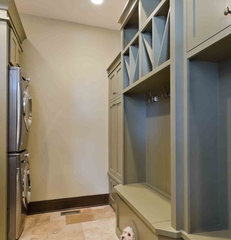 contemporary laundry room by Stonebreaker Builders & Remodelers