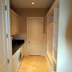 traditional laundry room by TLC Renovations