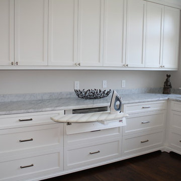 Laundry room with great storage options