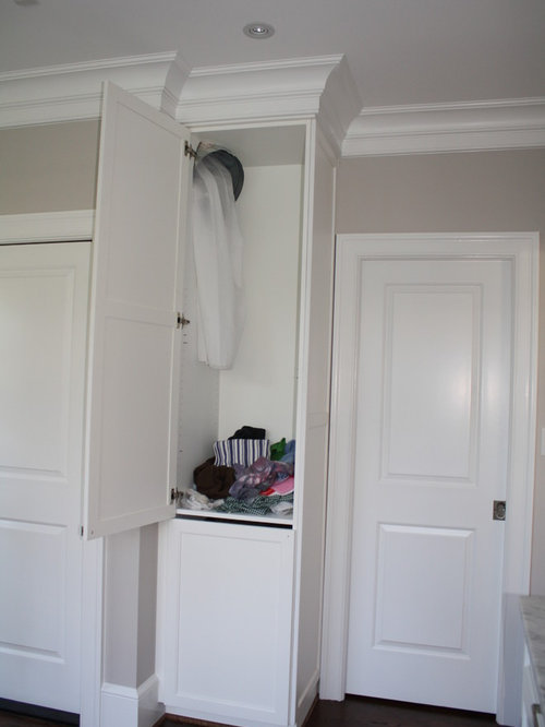 Hidden Laundry Chute | Houzz