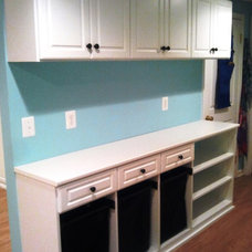 Contemporary Laundry Room by California Closets Maryland