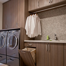 Contemporary Laundry Room by Organized Interiors