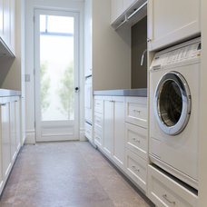 Traditional Laundry Room by Dan Kitchens Australia