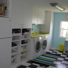 Contemporary Laundry Room by Closet Factory - Cleveland