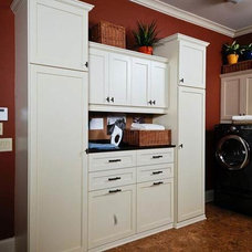 Traditional Laundry Room by Artisan Custom Closets
