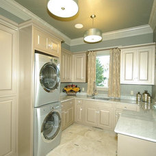 Contemporary Laundry Room by Richard Douglas Cabinets and Trim