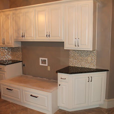 Traditional Laundry Room by Richard Douglas Cabinets and Trim
