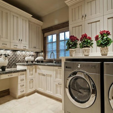Contemporary Laundry Room by Cameo Homes Inc.