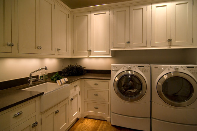 Traditional Laundry Room by DCI Home Resource