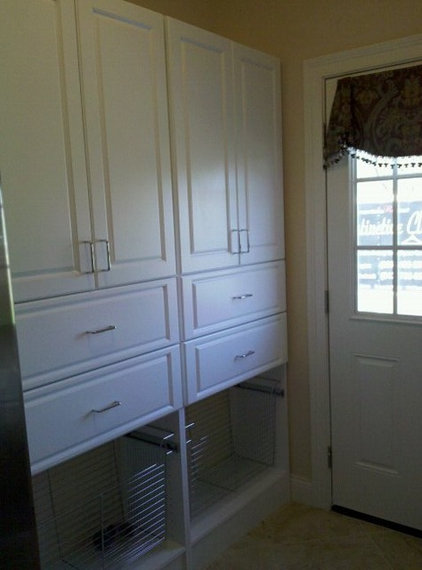 Traditional Laundry Room by Distinctive Closets