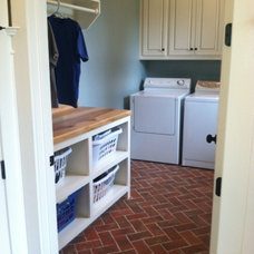 Traditional Laundry Room by Inglenook Tile Design