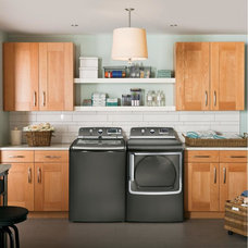 Modern Laundry Room by Jessup's Major Appliance Center