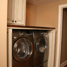Traditional Laundry Room by John Rogers Renovations, Inc.