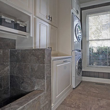 Traditional Laundry Room by Keri Morel Designs