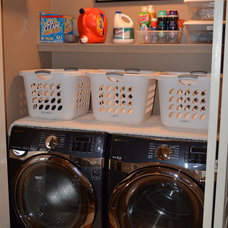 Modern Laundry Room by What's Inside Design Ltd.