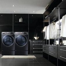 Modern Laundry Room by Samsung Canada