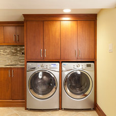 Contemporary Laundry Room by WL INTERIORS