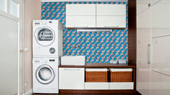 Laundry Splashback