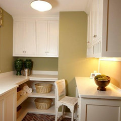traditional laundry room by Stonewood, LLC