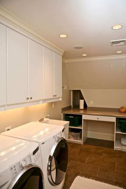 Traditional Laundry Room by Marie Newton, Closets Redefined