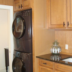 laundry room by Kristen Shellenbarger Designs