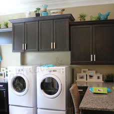 Traditional Laundry Room by E3 Cabinets & Design