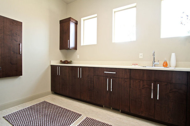 Contemporary Laundry Room by Venuti Woodworking