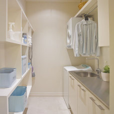 Contemporary Laundry Room by Du Bois Design Ltd