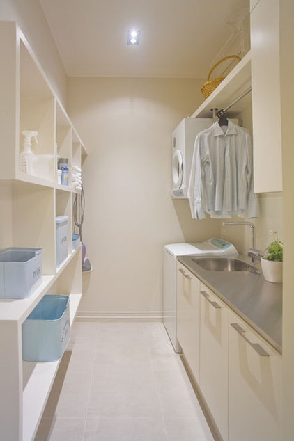 contemporary laundry room by Natalie Du Bois
