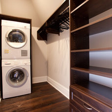 Traditional Laundry Room by Case Design & Remodeling Indy