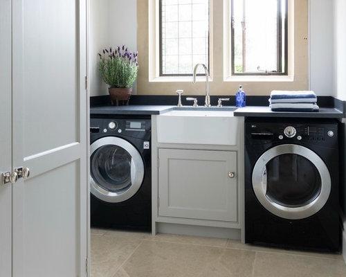 Sale Piccole Moderne : Foto e idee per sale lavanderia piccola sala lavanderia moderna