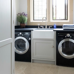 75 Beautiful Small Modern Laundry Room Pictures Ideas December 2020 Houzz