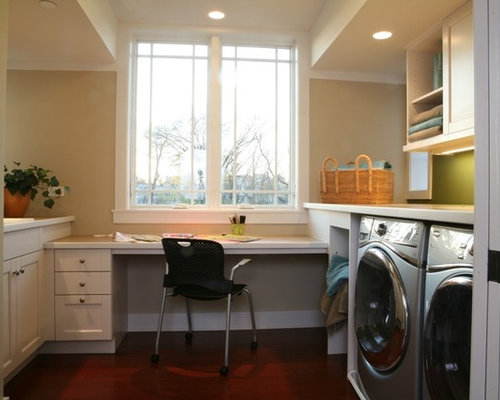 Laundry Room Desk Ideas, Pictures, Remodel and Decor