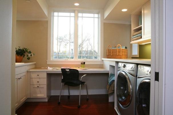 Traditional Laundry Room by Sarah Susanka, FAIA