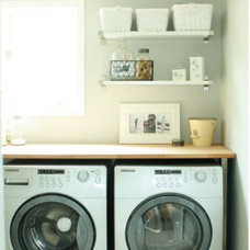 eclectic laundry room by Life in the Fun Lane