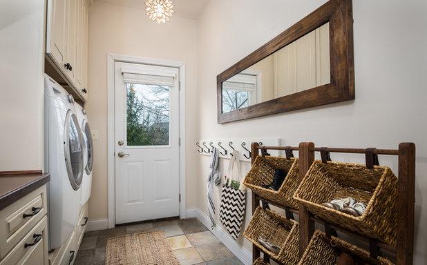Landstil Bryggers by Sunday Home Interiors