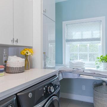 Light & Bright Laundry Room