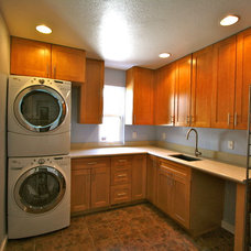 Traditional Laundry Room by David Quinn Construction